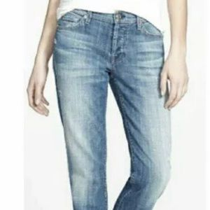7 For All Mankind Button Fly Boy Cut Jeans Size 28